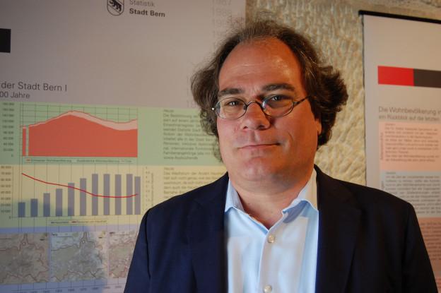 Thomas Holzer, Leiter von Statistik Stadt Bern