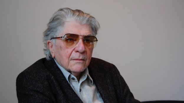 Schriftsteller Paul Nizon in Bern.