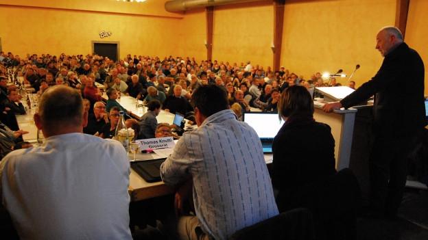 400 Personen fanden sich in Thun zur Vereinsgründung ein.