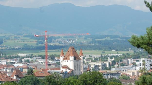 Blick auf die Thuner Innenstadt