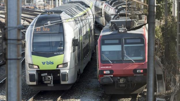 BLS und SBB kämpfen um die Anteile am Fernverkehr.