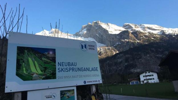 Kandersteg soll rund 1,4 Millionen Franken in die Infrastruktur der Skisprungschanze investieren.
