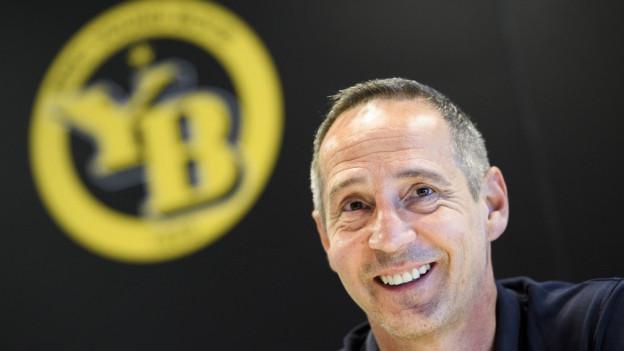 Hatte bei YB gut lachen: Adi Hütter verlässt Bern als Meister – und vielleicht auch Cupsieger.