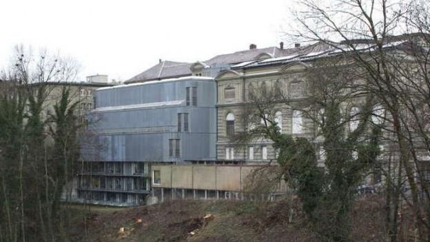 Ansicht der Rückseite des Berner Kunstmuseums.