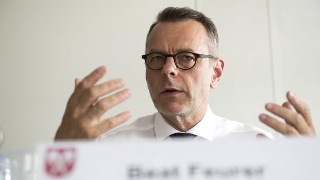 Beat Feurer stellt sich wieder einmal gegen den Gesamtgemeinderat.