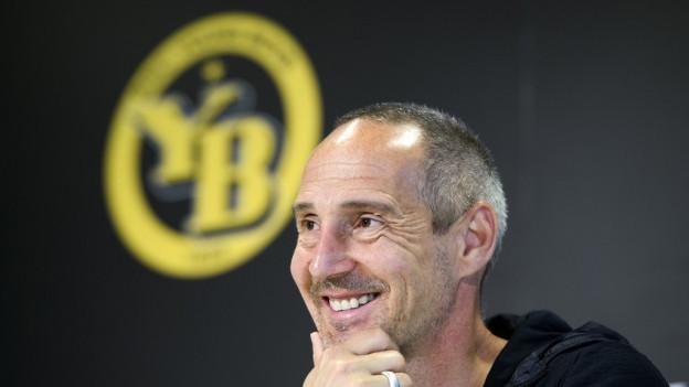 Adi Hütter äussert sich vor dem Cupfinal.