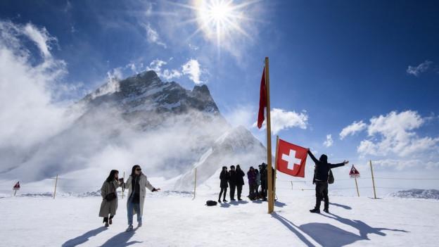 Das Jungfraujoch ist bei den Touristen hoch im Kurs.