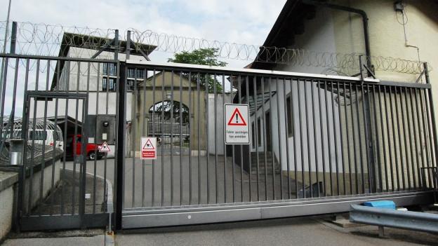 Der Eingang zur Strafanstalt Thorberg