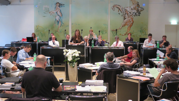 Es tagt das Bieler Stadtratparlament