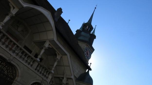 Im Rathaus Freiburg wurde am Nachmittag hitzig diskutiert.