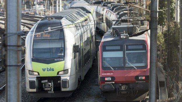 Die BLS und die SBB streiten sich um Bahnlinien.
