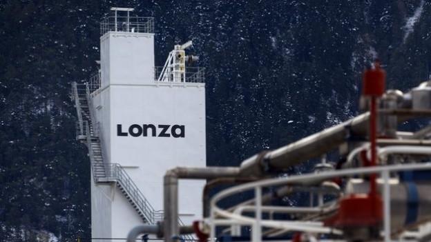 Das Lonza-Gebäude in Visp
