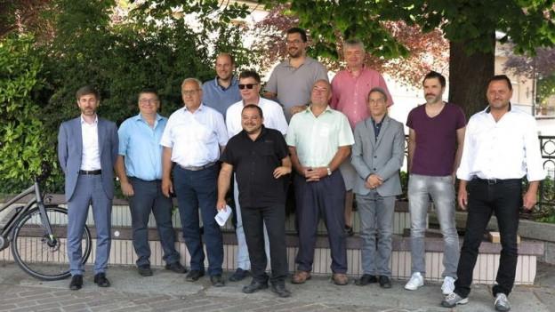 Walliser Parteipräsidenten von links bis rechts