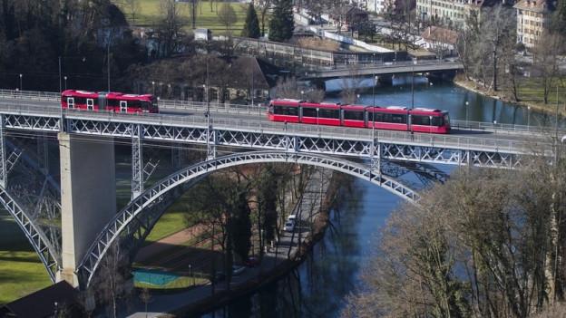 Die Kirchenfeldbrücke wird saniert