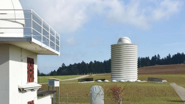 So soll die neue Sternwarte gemäss der Visualisierung aussehen.