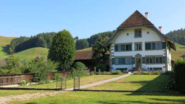 Das Gotthelf-Zentrum in Lützelflüh braucht neues Geld.