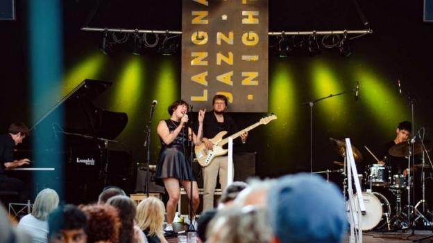 Premiere: Die junge Band «Nime» hat am Langnau Jazz Meeting ihr erstes Konzert überhaupt in dieser Formation.