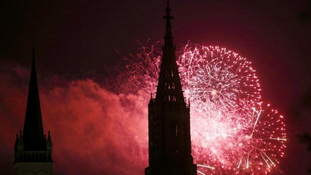 Das Feuerwerk für Bern wurde wegen der Trockenheit abgesagt.