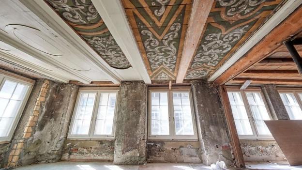 Ein überraschender Fund wurde im Morellhaus gemacht.