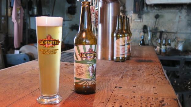 Bier aus Jegenstorf – aber alles ausser das Wasser musste importiert werden.