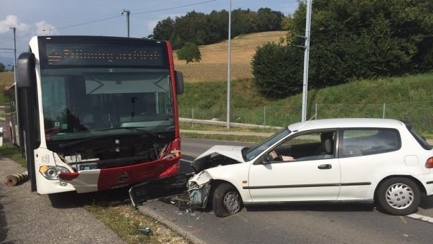 Der Lenker verlor offenbar die Herrschaft über sein Fahrzeug.