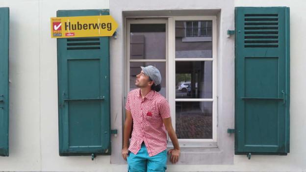 Einer der Hubers, die in Wangen an der Aare ausstellen: Dersu Huber, Fotograf.