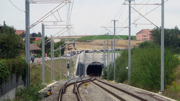 Der Bau des Rosshäuserntunnels dauerte sechs Jahre.