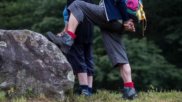 Die Zeiten der roten Socken sind vorbei, nicht aber der Trend hin zum Wandern.