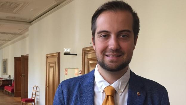 Seit acht Jahren gehört Jan Gnägi dem Kantonsparlament an. Jetzt hat ihn die BDP zu ihrem neuen Präsidenten gewählt.