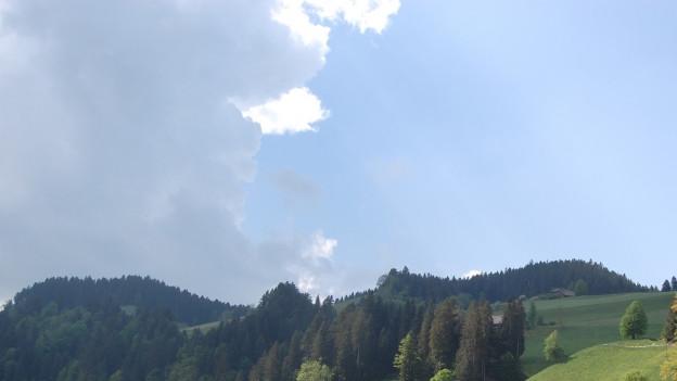Wolken über dem Emmental