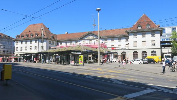 Der Freiburger Bahnhofplatz steht vor einem Facelifting.