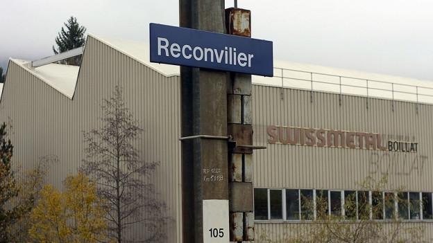 Verantwortlich sind unter anderem die Firma Swissmetall und die ehemalige Firma Boillat.