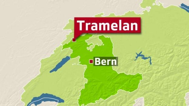 Karte Tramelan