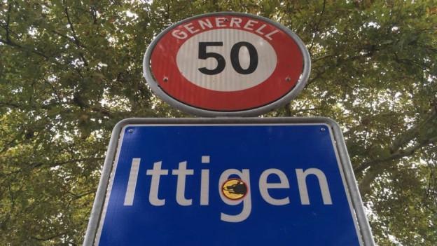 Ittigen liegt nordöstlich der Stadt Bern, im unteren Worblental.