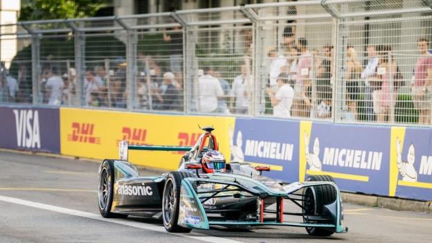 Für das Formel-E-Rennen in Bern müssen auch Absperrungen aufgestellt werden.