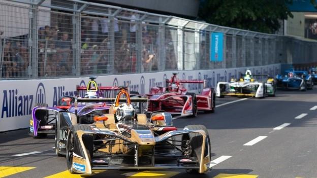 Die Formel E in Bern