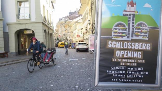 Mit der Eröffnung des Schlossberg-Parkings beginnt in der Thuner Innenstadt eine neue Zeitrechnung.