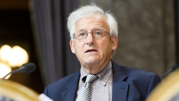 Portrait Hans Stöckli.