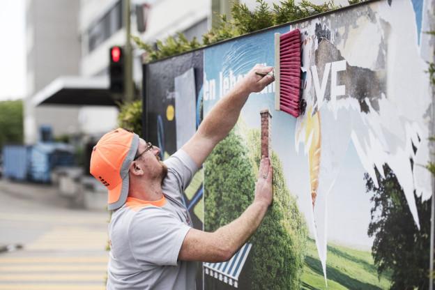 Wer plakatiert künftig in Bern?