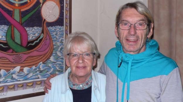 Jeannette und René Sutter im Anker in Interlaken