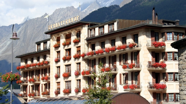 Im Zermatterhof in Zermatt ereignete sich eine Explosion.