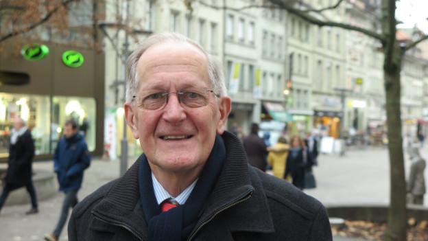 Alt-Bundesrat Joseph Deiss plaudert aus dem Politikernähkästchen