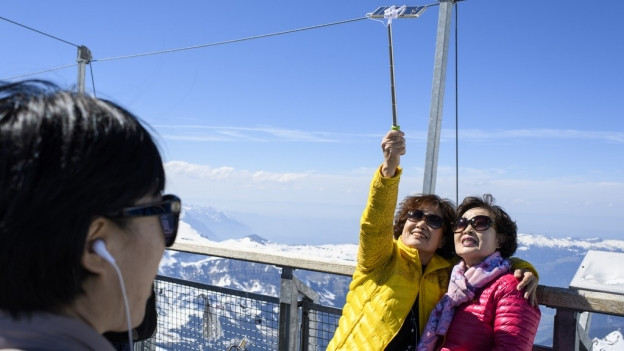 Immer mehr Touristen kommen aus Asien ins Berner Oberland.