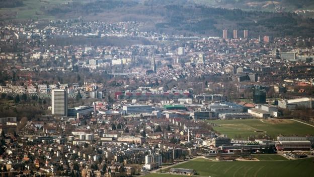 Die Stadt Bern könnte um Ostermundigen wachsen