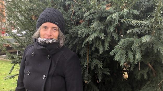 Sabine Amrhein ist die einzige Sterbeamme der Schweiz.