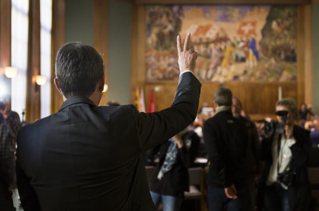 Die Mitglieder des Verfassungsrats wurden vereidigt.