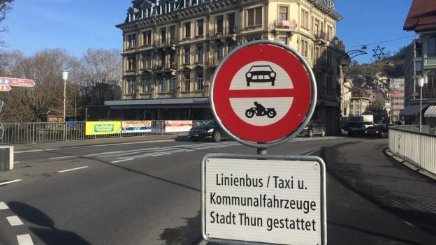 Wie bewältigt Thun den Mehrverkehr bis 2035? Mit neuen Verkehrsführungen und einer Bevorzugung des ÖV.