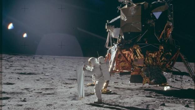 Die Mondlandung am 21. Juli 1969 veränderte die Welt.
