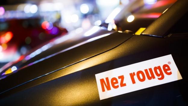 Die Chauffeure von Nez Rouge sind über die Festtage unterwegs.