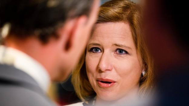 Christa Markwalder sitzt seit 2003 im Nationalrat, 2016 war sie Präsidentin.